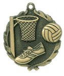 Wreath Medal -Netball Wreath Medal Awards