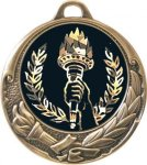 Torch Wreath Medal - Insert Holder  Wreath Medal Awards