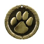 XR Medals -Paw Print  XR Series Medal Awards