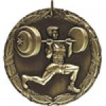 XR Medals -Weightlifter  XR Series Medal Awards